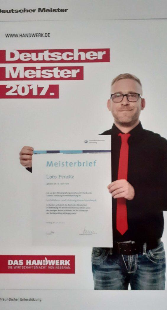 Fenske Lars mit Meisterbrief